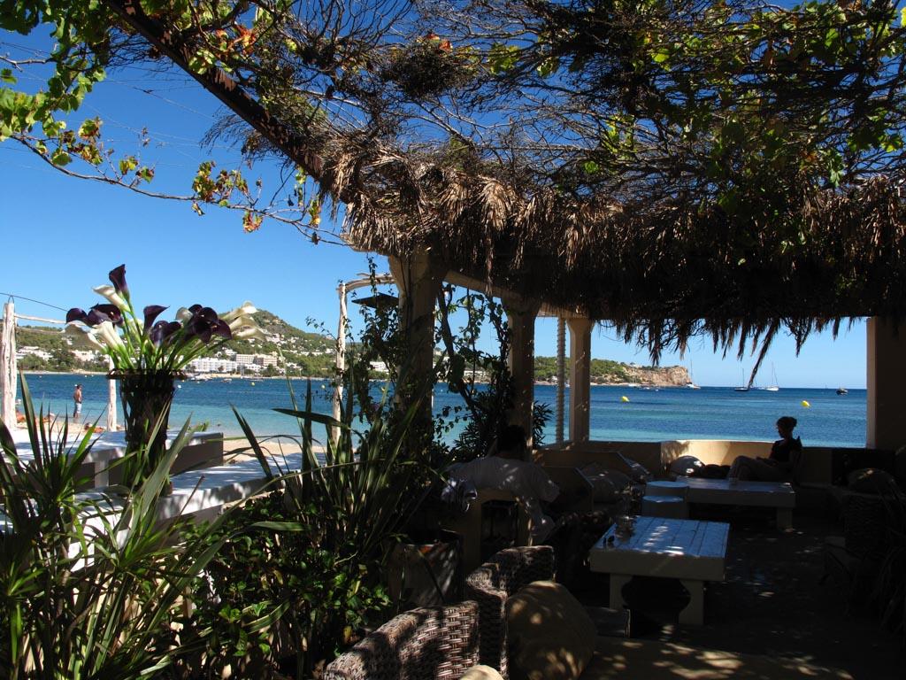 One of the Chiringuitos on Talamanca Beach